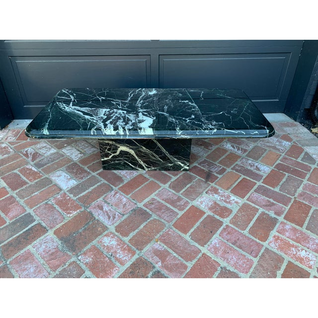 Stone Vintage Italian Marble Coffee Table For Sale - Image 7 of 7