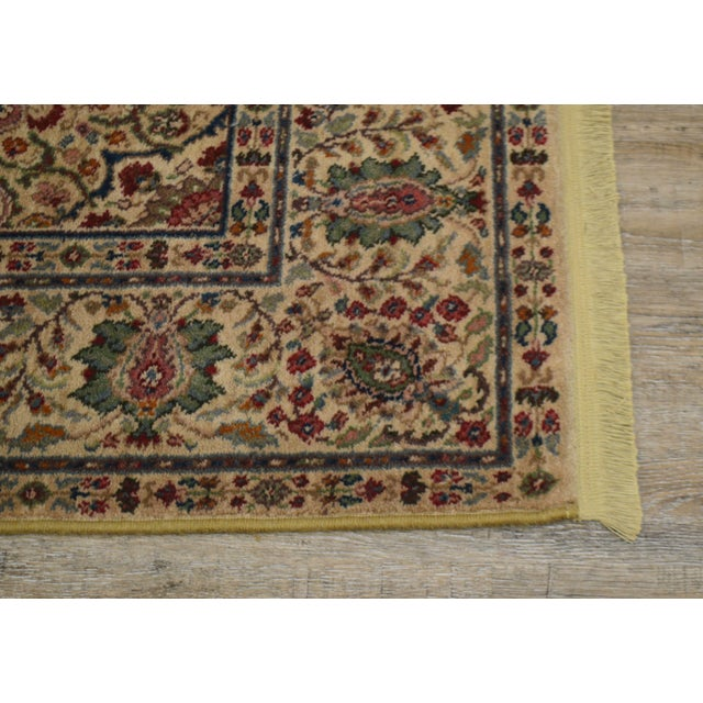 Early 21st Century Karastan Tabriz Medallion Samovar Tea Wash 5'9 x 9' Rug For Sale - Image 5 of 12