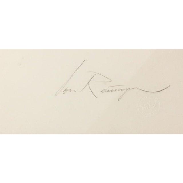 "Abstract ""Jerusalem Burns"" Serigraph by Dan Reisinger For Sale - Image 3 of 5"
