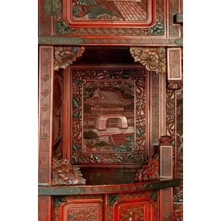 Grand Scale 19th Century Asian Cinnabar Cabinet Preview