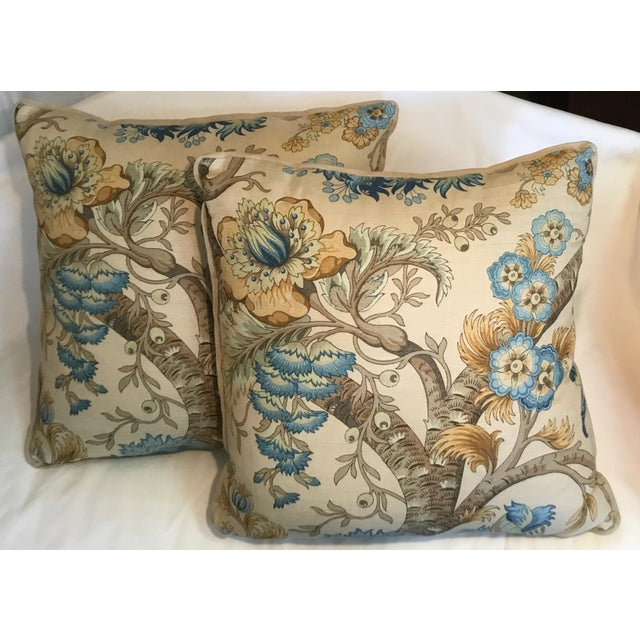 Ralph Lauren Pillow - Tree of Life Design - Pair Available For Sale - Image 10 of 13