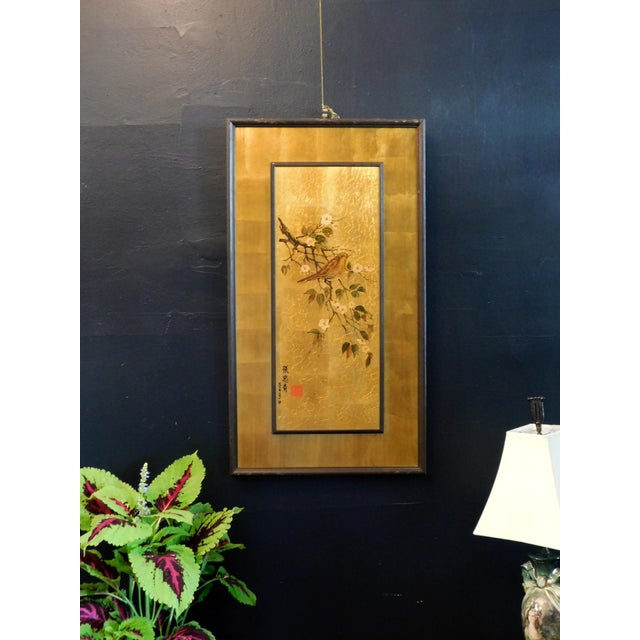 Vintage Golden Bird Art For Sale In San Francisco - Image 6 of 7