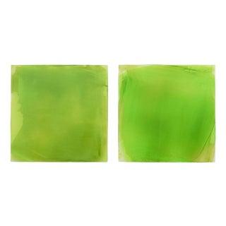 "Debra Ramsay ""Greens"" Painting For Sale"