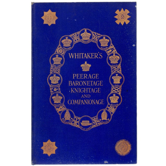 """Whitaker's Knightage & Companionage"" - Image 1 of 2"