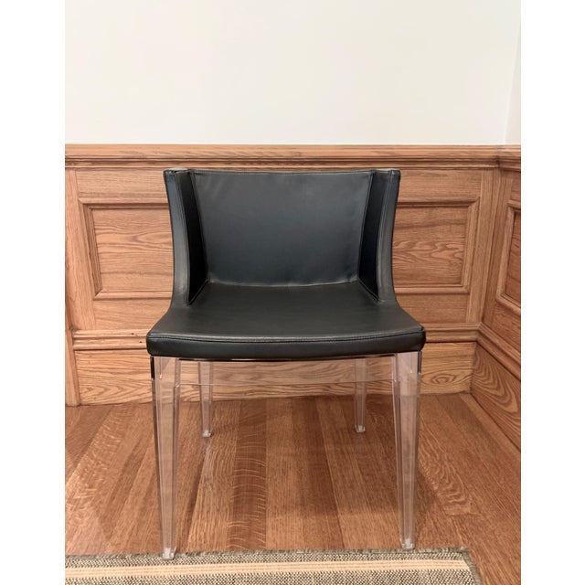 The beautiful Kartell Mademoiselle chair can be either a dining chair, desk chair or accent chair. It's seat is covered in...