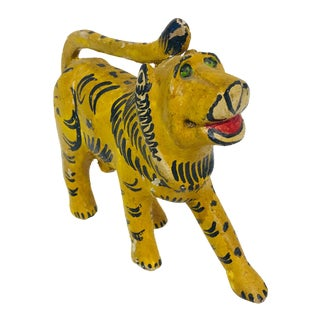 Indian Tiger Figurine