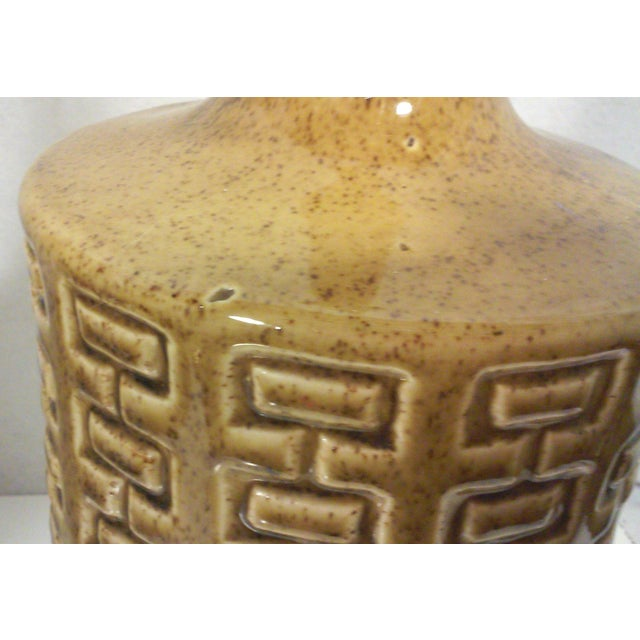 Ceramic & Walnut Table Lamp - Image 5 of 5