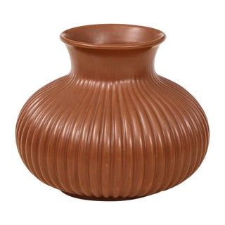 Giovanni Gariboldi for Richard Ginori 1930's Italian Art Deco Vase For Sale