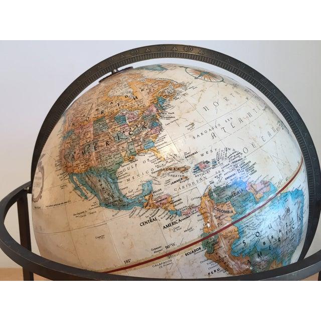 Paul McCobb Tabletop Globe - Image 5 of 5