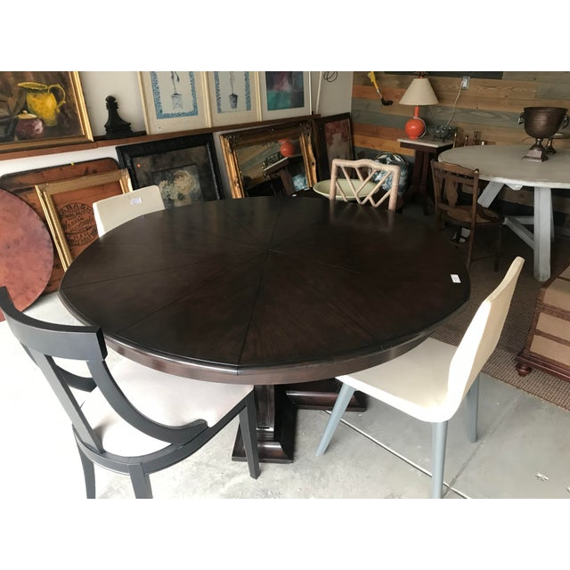 English Soho Jupe Dining Table For Sale - Image 3 of 12