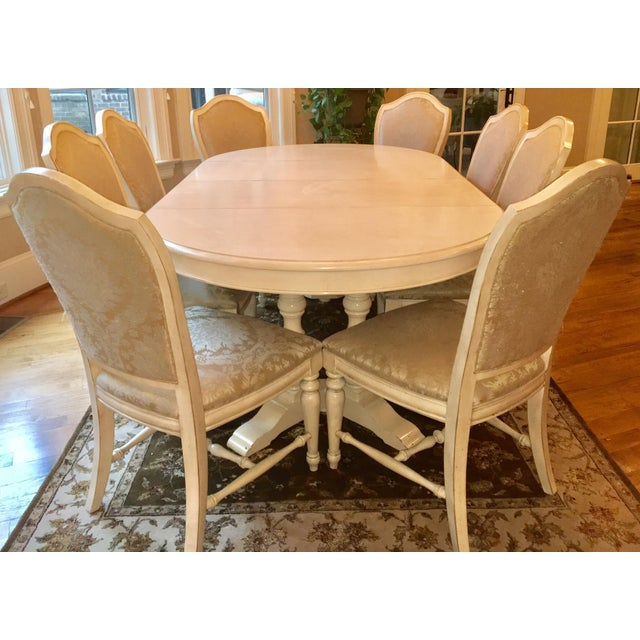 Drexel Heritage Dining Table Chair Set Seats 8 Image 2