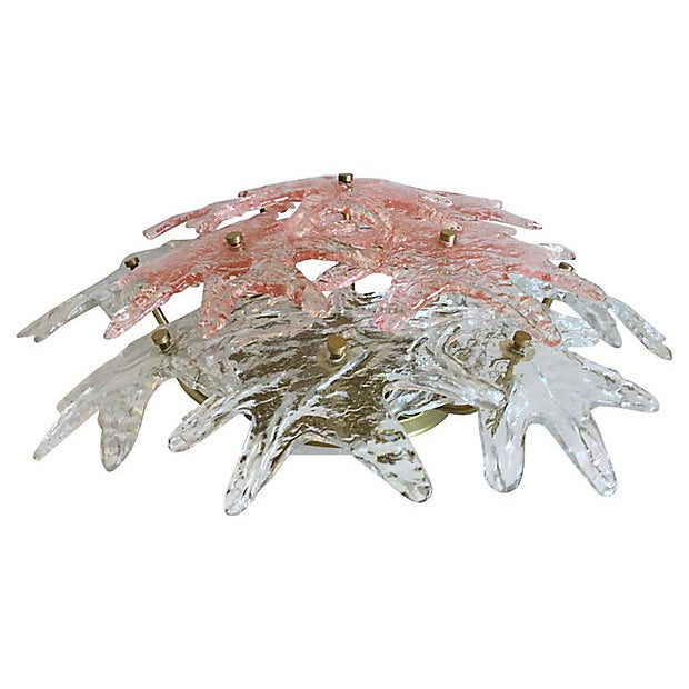 1970s 1970s Modern Ceiling Chandelier by Zero Quattro For Sale - Image 5 of 11