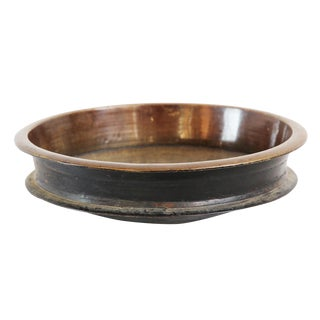 Vintage Bronze Urli Bowl For Sale