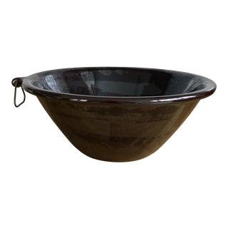 Lagardo Tackett Mid-Century Rockingham Cook/Serve Large Bowl For Sale