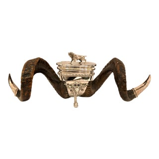 Antique Scottish Snuff Mull, Circa 1880. For Sale