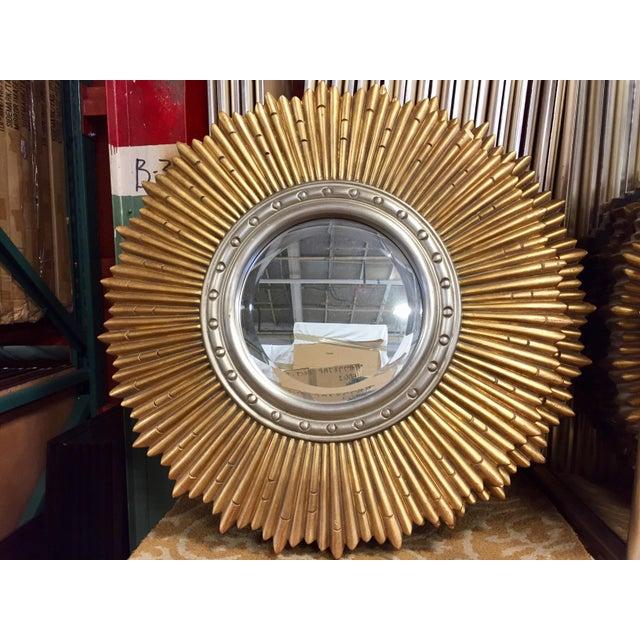 Sunburst Porthole Beveled Wall Mirror - Image 2 of 5