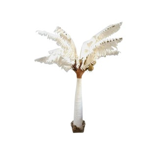 Vintage Fabric Palm Tree For Sale