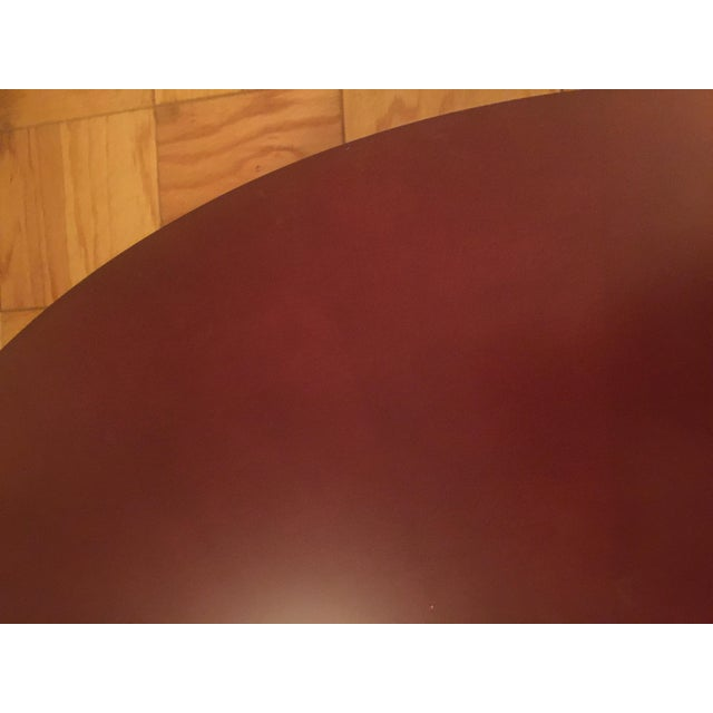 Red Round Coffee Table - Image 7 of 10