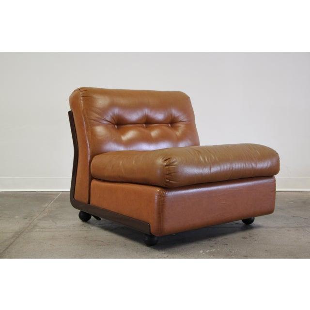 1970s Vintage Mario Bellini Amanta Modular Sofa For Sale In San Diego - Image 6 of 13