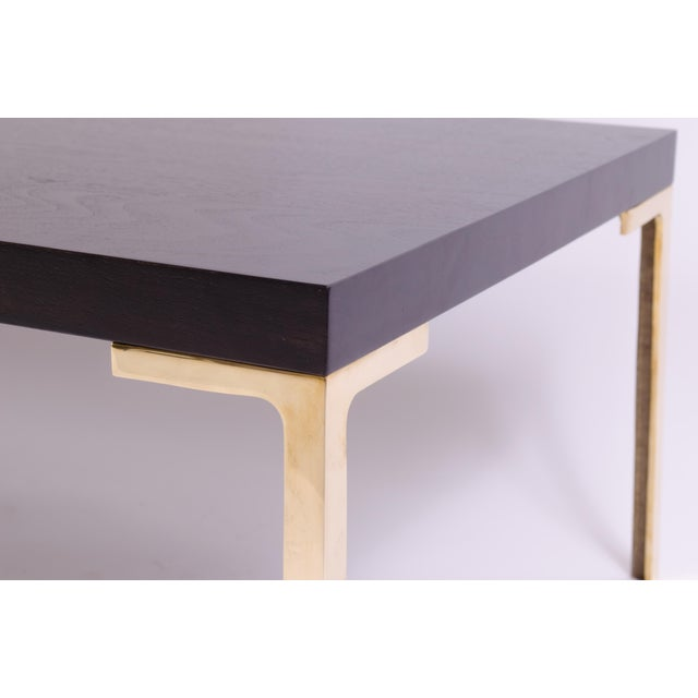 Astor Cocktail Table in Ebonized Walnut by Montage For Sale In New York - Image 6 of 7