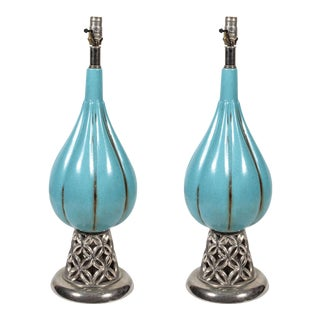1940s Lamps - A Pair For Sale