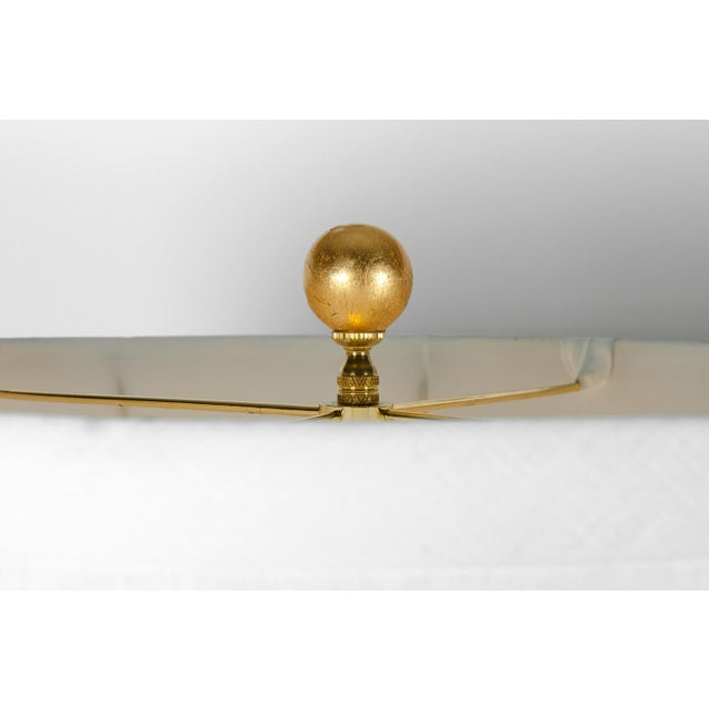 Vintage Porcelain Table or Task Lamps With Brass Base - a Pair For Sale In New York - Image 6 of 13