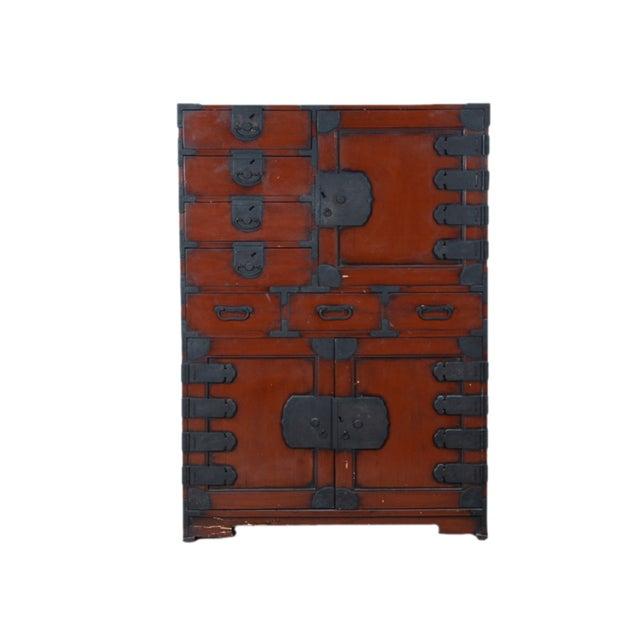 Vintage Japanese Tansu Cabinet - Image 2 of 8