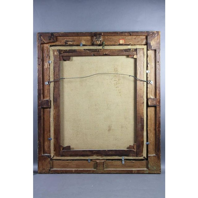 Framed Oil on Canvas of a Noblewoman Attributed to Sir Peter Lely For Sale In Boston - Image 6 of 8