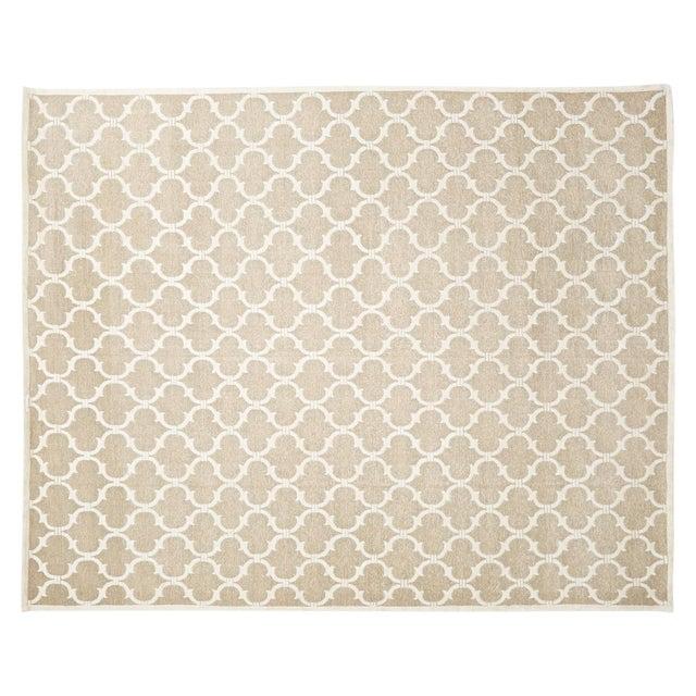 "Stark Studio Rugs Contemporary Linen Soumak Rug - 9' X 11'10"" For Sale"
