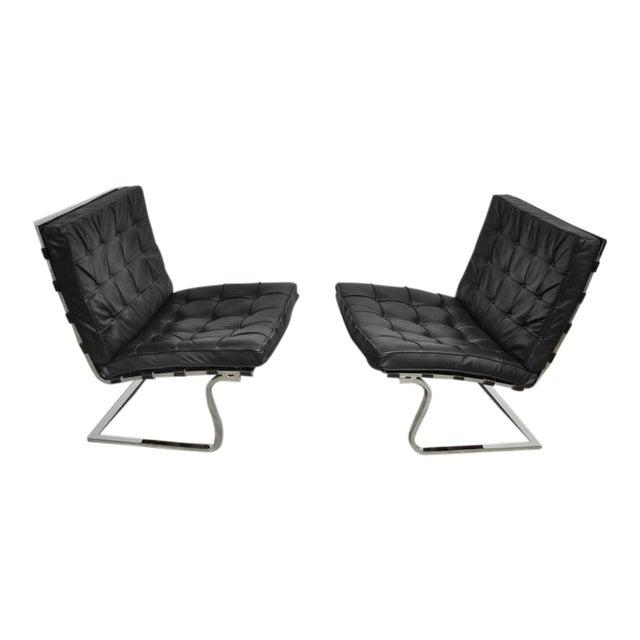 Mies Van Der Rohe Tugendhat Lounge Chairs for Knoll - Image 1 of 9