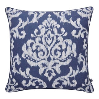 Indian Ink Blue Cushion For Sale