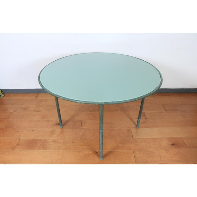 1960s Walter Lamb for Brown Jordan Patio Table For Sale - Image 5 of 7