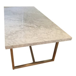 Restoration Hardware Torano Marble Dining Table