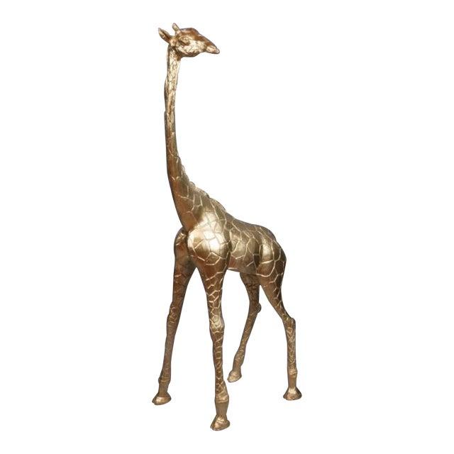 Gilt Baby Giraffe - Image 1 of 4