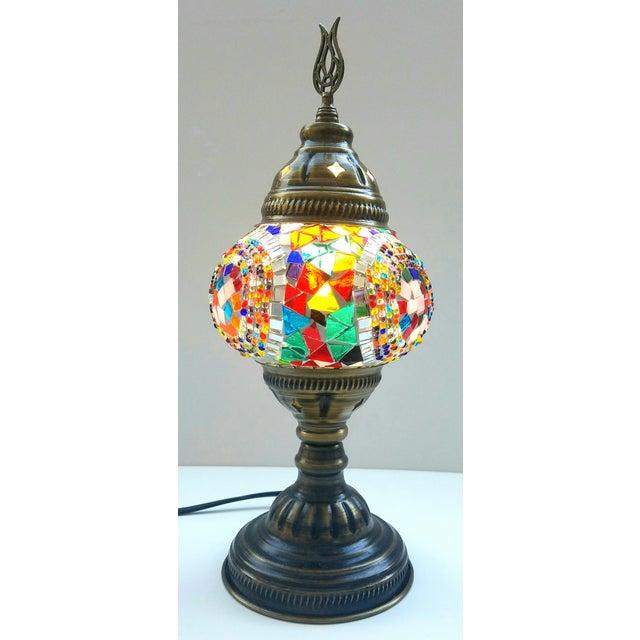 Handmade Mosaic Table Lamp - Image 3 of 4