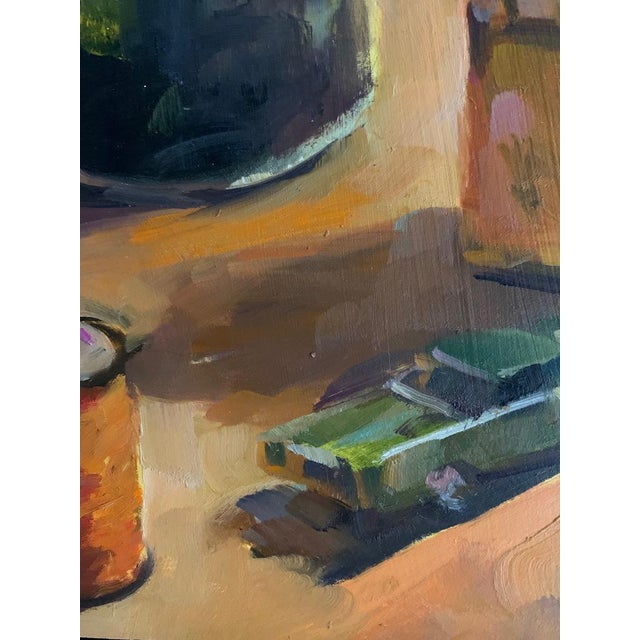 Still Life Take 2 Oil Painting For Sale In New York - Image 6 of 7