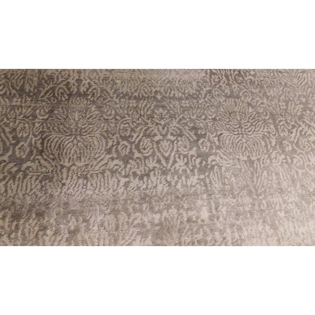 """Traditional Transitional Hand-Knotted Luxury Rug - 8'1"""" x 10' For Sale - Image 3 of 5"""
