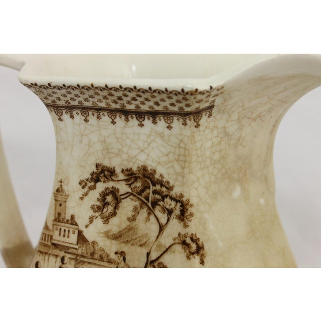 Wm. Adams & Sons English Pitcher For Sale - Image 5 of 8