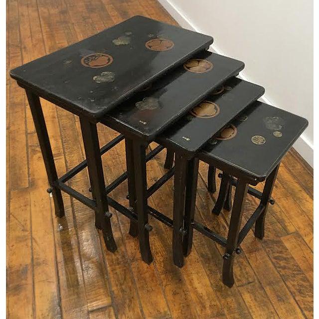 Nesting Tables - Set of 4 Vintage Japanese - Image 6 of 6