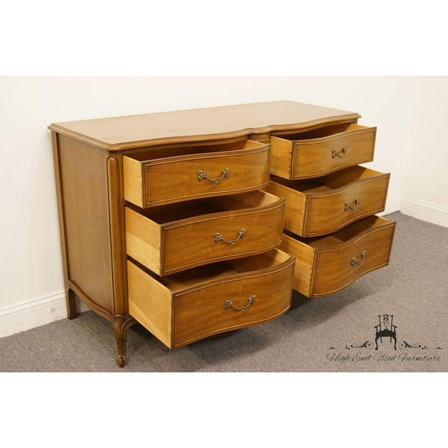 "20th Century Traditional Drexel Bordeaux Collection 54"" Double Dresser For Sale In Kansas City - Image 6 of 13"