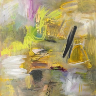 """Travels in Provence"" by Trixie Pitts Large Abstract Oil Painting For Sale"