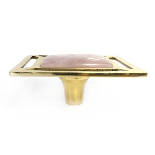 The Addison Weeks Semi-precious gemstone pull is crafted by hand and adds instant glamour wherever it is placed. Designed...