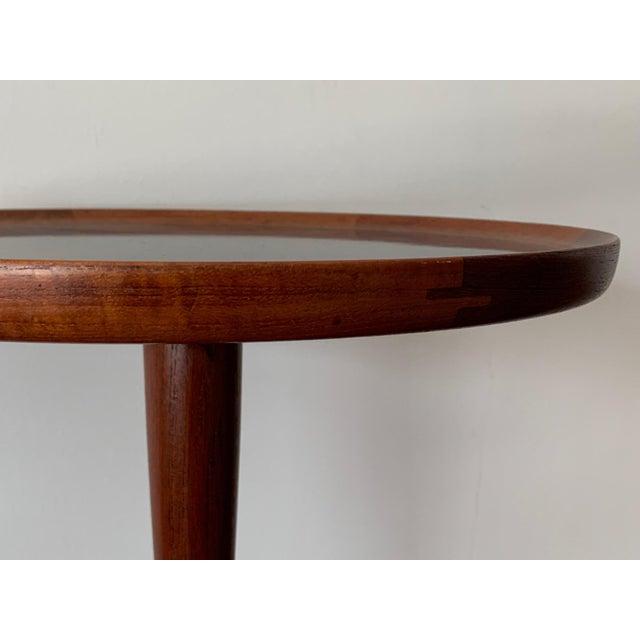 1960s 1960s Danish Modern Hans Andersen Teak Table For Sale - Image 5 of 10