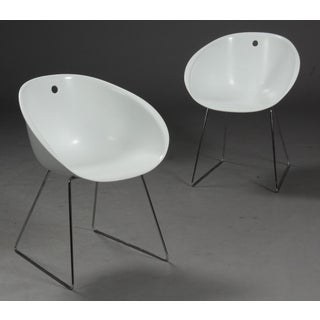 Modern Claudio Dondoli & Marco Pocci Gliss 920 Chairs- Set of 4 Preview