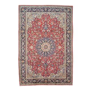 Vintage Persian Najafabad Rug - 8'5'' X 12'5'' For Sale