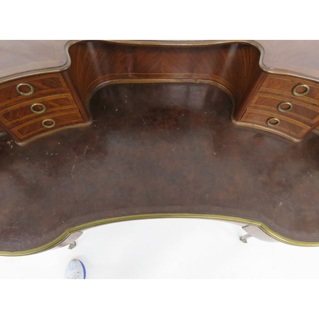 19th C. French Krieger Bronze Mounted Desk - Image 6 of 6