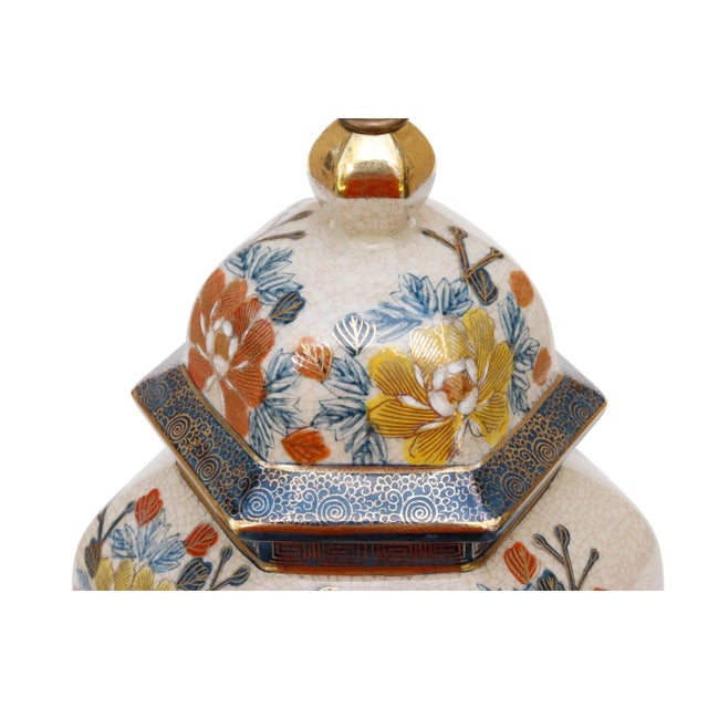Asian Chinoiserie Porcelain Table Lamp by Knob Creek For Sale - Image 3 of 8