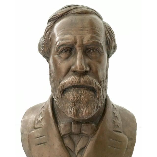 Vintage Ulysses S. Grant Bust Sculpture - Image 5 of 8