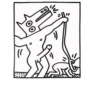 Keith Haring Lithograph For Sale