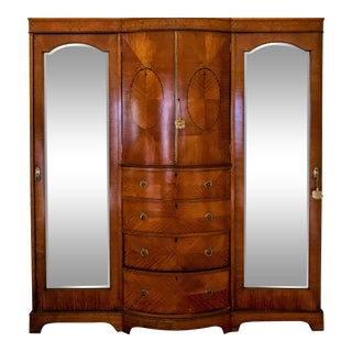 19th Century English Traditional Armoire For Sale